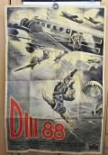 RARE GERMAN WWII MOVIE POSTER D III 88 The New Ger