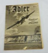 DER ADLER LUFTWAFFEN MAGAZINE GERMAN EDITION 23/1940